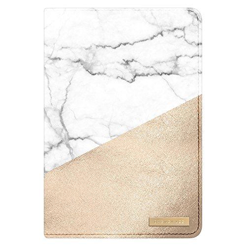 Dabney Lee 52262598 Tablet Case for iPad Mini - White/Gold Marble