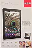RCA Viking II Pro10-inch Tablet with Detachable Keyboard, Black (Quad Core 32GB,1GB RAM, HDMI, Bluetooth, WiFi, Android 6.0 Marshmallow)
