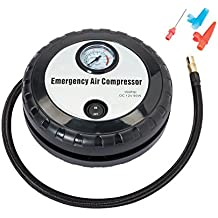 Mini Air Compressor - Portable Electric Air Pump is Perfect to Keep in Every Car for Emergencies