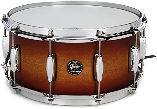 Gretsch Drums Renown Series Snare Drum - 6.5 Inches X 14 Inches Satin Tobacco Burst
