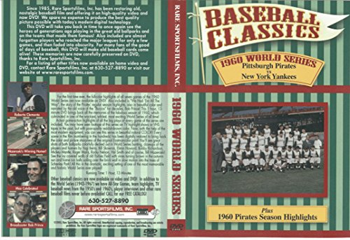 1960 World Series DVD Baseball Classics Pittsburgh Pirates vs New York Yankees + Pirates Season Highlights