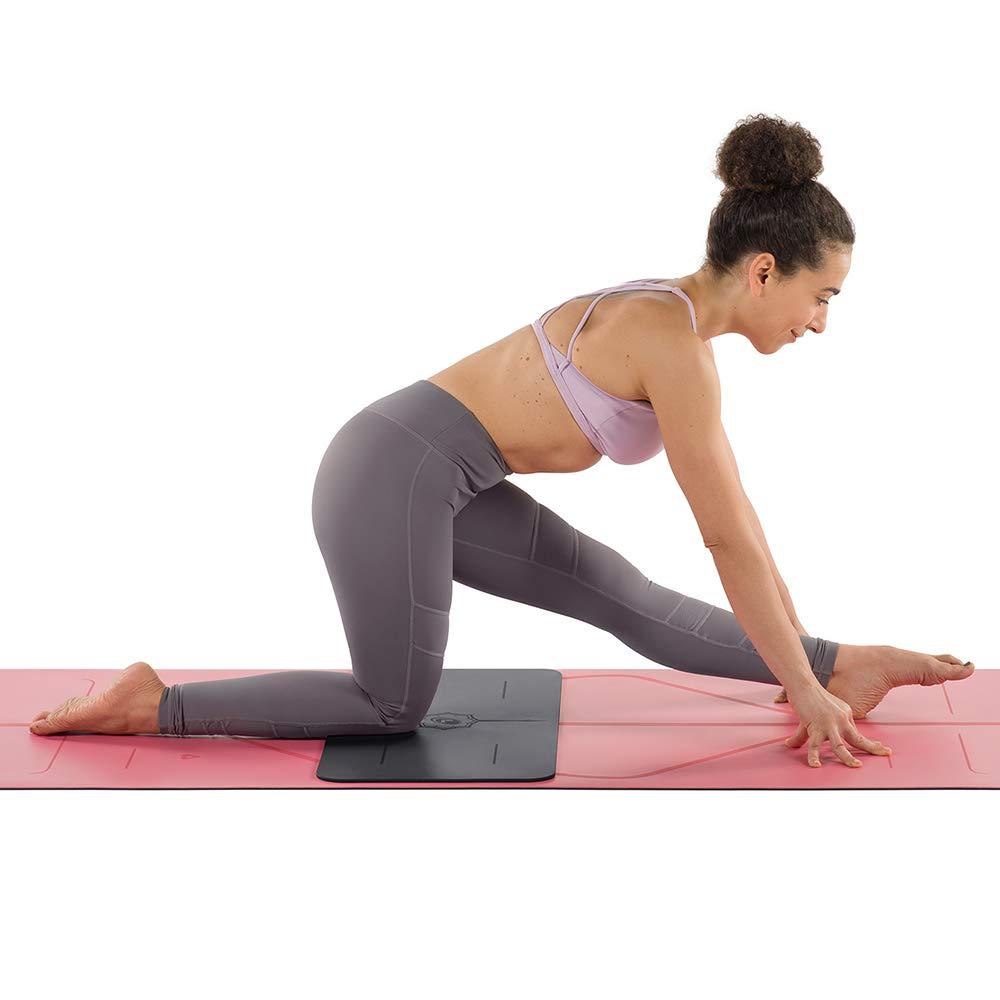 Liforme Yoga Pad - Esterilla de Yoga Antideslizante para Rodillas, Brazos y Codos - con Sistema Patentado De Alienación y Máximo Agarre - Colchoneta ...