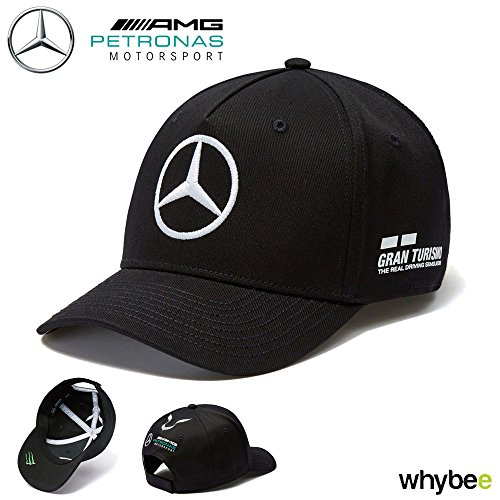 fa275ed93fa 2018 Mercedes-AMG F1 Lewis Hamilton Drivers Cap (BLACK) Adult One Size