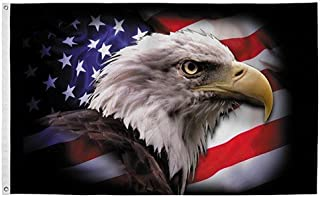 product image for PermaNyl 3' x 5' America Strong Eagle by Valley Forge Flag