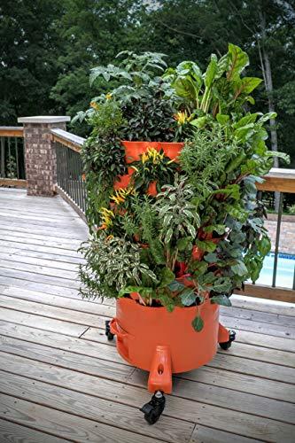 Garden Tower 2 + Premium Caster Kit: Move and Grow Bundle