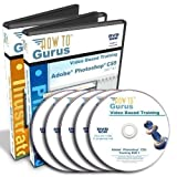Adobe Photoshop CS5 Tutorial and Adobe Illustrator CS5 Training on 5 DVDs