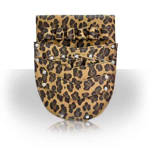 Roo Beauty Cutter Leopard Hairdressing Pouch by Roo Beauty