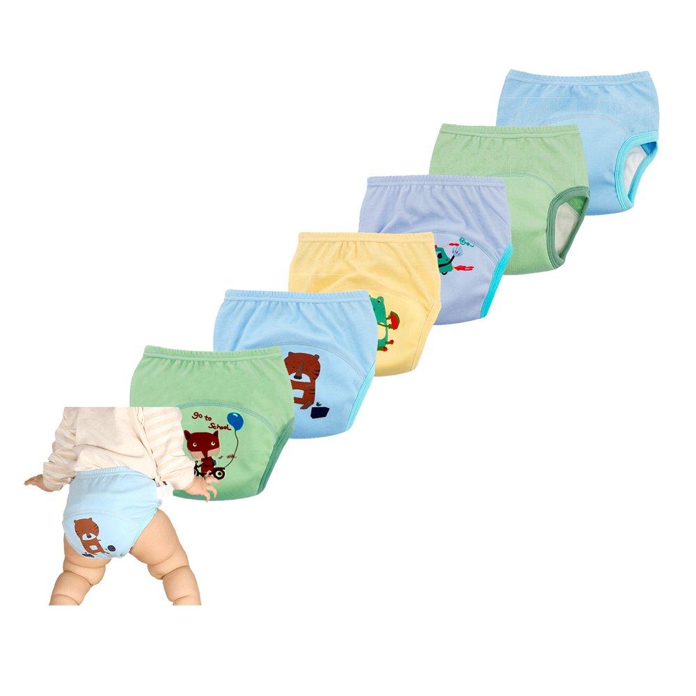 smart sisi 2018 New Anti Leakage Training Pants Babies, Toddler 6 Layers Potty Training Pants 6 Pack