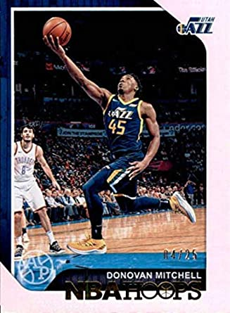 Amazon.com  2018-19 Panini Hoops Artist Proof  90 Donovan Mitchell 4 ... ec90614b6