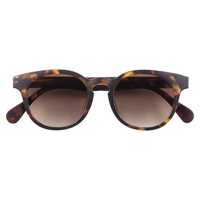 Gafas de sol bifocales para mujer y hombre de Babsee | Casi ninguna línea visible | Gafas de sol bifocales con protección UV | Acabado mate moteado ...