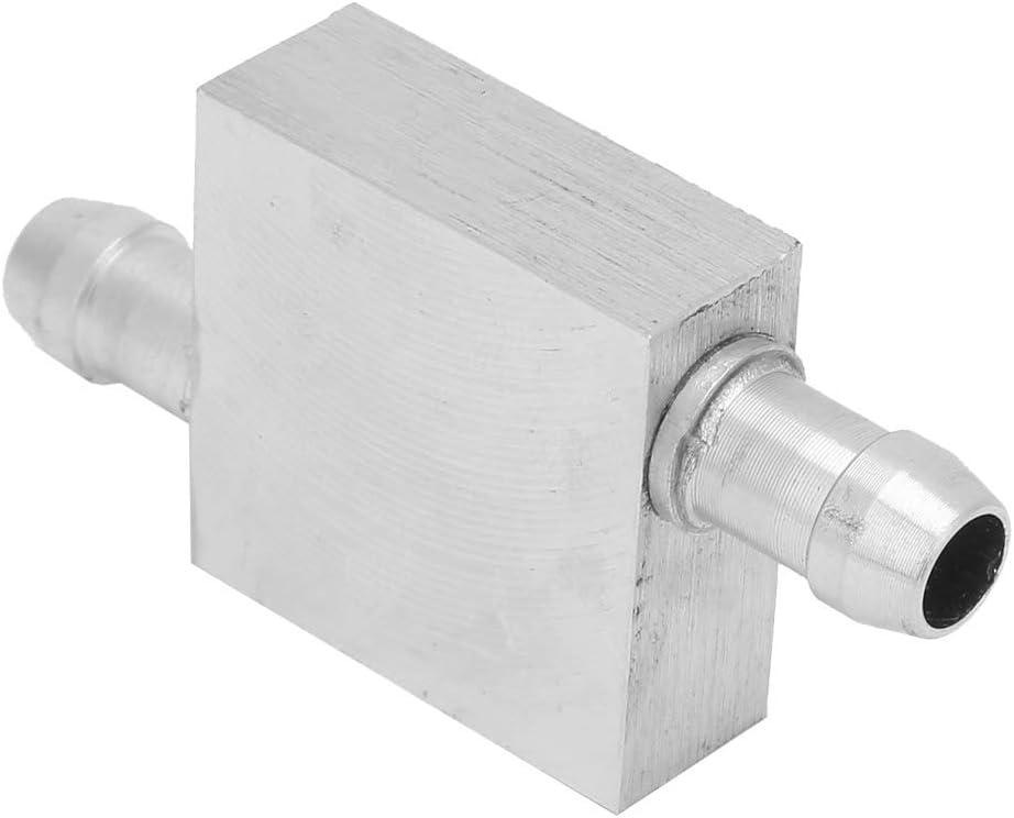 Aluminum Water Cooling Block Waterblock Cooler Water Cooling Head Light /& Right Effluent