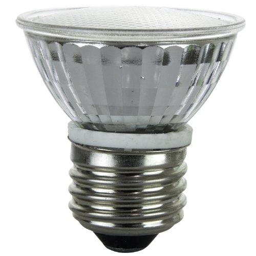 Mr16 Mini Reflector - Sunlite 50MR16/CG/FL/E26/120V 50-Watt Halogen MR16 Medium Based Mini Reflector Bulb, Cover Guard