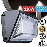 120W LED Wall Pack Lights - 840W Hps/HID