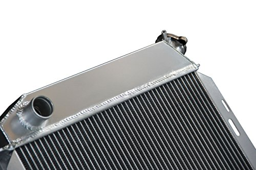 ZC5759 New 3 Rows All Aluminum Radiator Fit 1957 1958 1959 Ford Radiator Cars w//V8 engines
