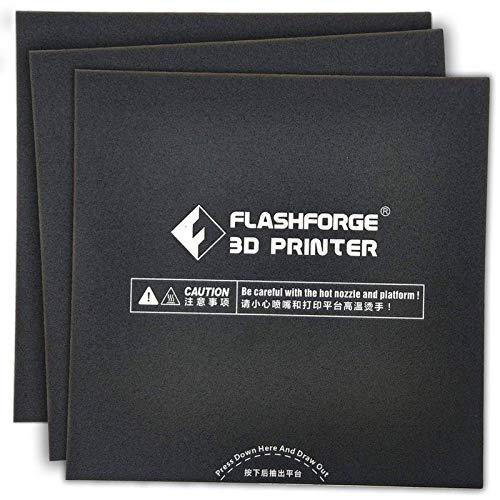 Flashforge FDM 3D Printer Build Plate Sticker (Adventurer 3)