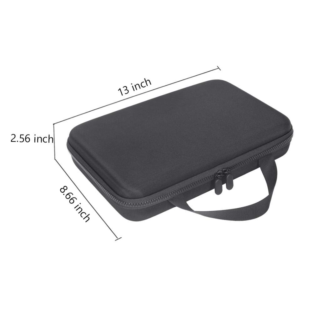 Augproveshak Portable Camera Case for Insta360 One X Action Camera Hard Travel Case Carry Bag for Action Camera