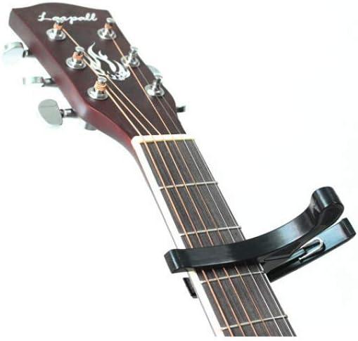 Hjyi Cejilla Guitarra,Guitarra Folk Alto Grado Tono Clip Cambio ...