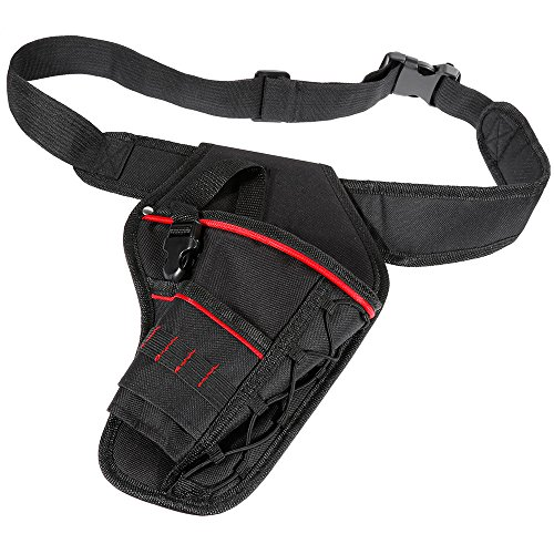 Vastar Drill Holster, Heavy-Duty Impact Driver Holster with Waist Belt Fits Most T Handle Drills