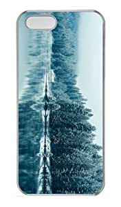 awesome case Winter Lake PC Transparent Case for iphone 5/5S