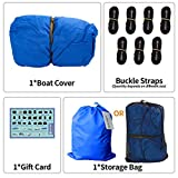iCOVER Trailerable Boat Cover- Water Proof Heavy
