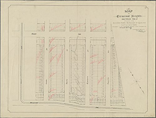 Terminal Section - Historic 1906 Map | Map of