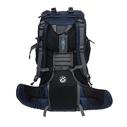 outdoorer Tourenrucksack Tour Bag 50, robuster Reiserucksack, auch als Rucksack für Handgepäck im Flugzeug geeignet