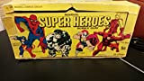 1966 Donruss Marvel Super Heroes Trading Card Empty Box Art EX- Spider-Man Hulk Captain America Daredevil Iron Man