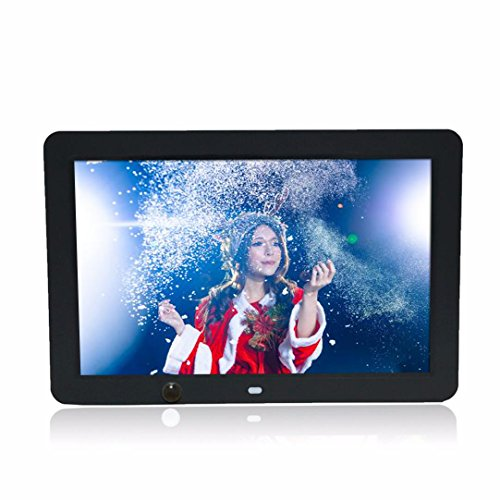( Mother's Day Gift )Boddenly 12-inch HD 1024x800 Ultra-thin Digital Photo Frame MP3 Video Player With 8G Memory Card Motion Sensor