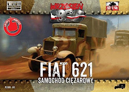 1//72 First to Fight 011 WKII Polen FIAT 621 LKW Bausatz