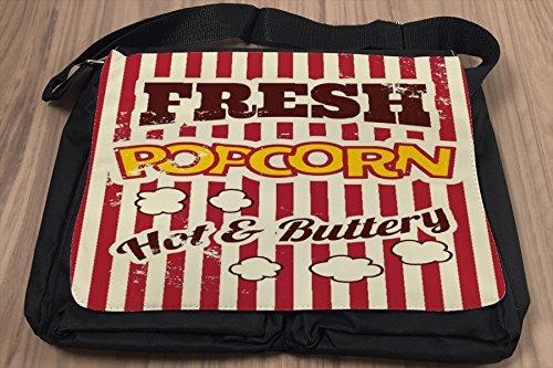 Borsa Tracolla Stella Cinema di popcorn Stampato Divertimento