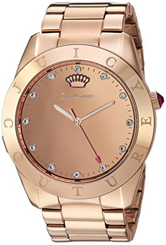 - Juicy Couture Women's 'Couture Connect' Quartz Gold-Tone Smart Watch(Model: 1901501)