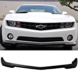 2010 camaro ss spoiler - Front Bumper Lip Fits 2010-2013 Chevrolet Camaro V6 | SS Style Unpainted Raw Material Black PU Front Lip Finisher Under Chin Spoiler Add On by IKON MOTORSPORTS | 2011 2012