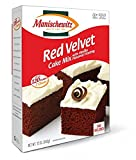 Manischewitz Red Velvet Cake Mix With Vanilla Flavored Frosting Kosher For Passover 12 oz. Pack of 3.