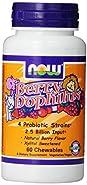 NOW Foods BerryDophilus 60 Chewables