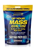 MHP UYM XXXL 1350 Mass Building Weight Gainer, Muscle Mass Gains, w/50g Protein, High Calories, 11g BCAAs, Leucine, Milk Chocolate, 16 Servings