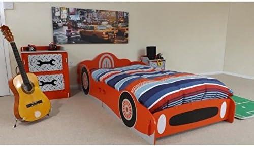 Lambini cama infantil 90 x 200 cm + somier – forma de coche ...