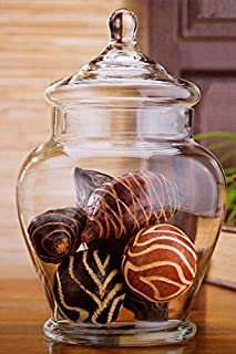 Home Essentials 11 Inch Vintage Rustic Clear Glass Storage Jar for Candy or Wedding Centerpiece (B00K9ZA5TC) | Amazon price tracker / tracking, Amazon price history charts, Amazon price watches, Amazon price drop alerts