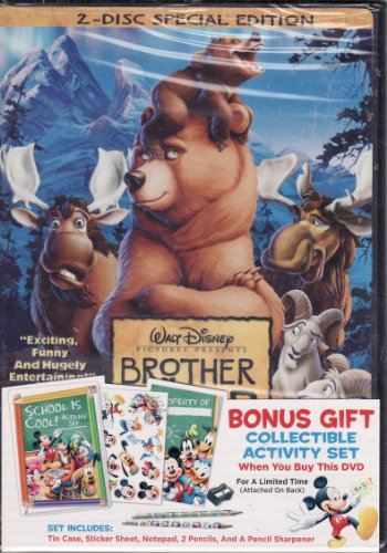 Brother Bear 2 Disc Special Edition DVD LIMITED EDITION Includes Collectible Activity Set (Brother Bear 2 Dvd)