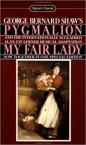 pygmalion and my fair lady book
