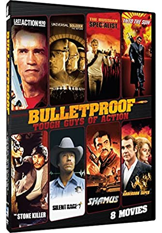 Bulletproof-Tough Guys of Action - 8 Pack: Last Action Hero, Universal Soldier, Russian Specialist, Into the Sun, Stone Killer, Silent Rage, Shamus, Anderson (The Anderson Tapes Dvd)