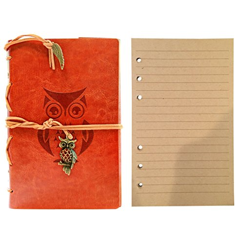 classic-refillable-writing-journal-cute-owl-embossing-vintage-leather-pu-design-includes-extra-refil
