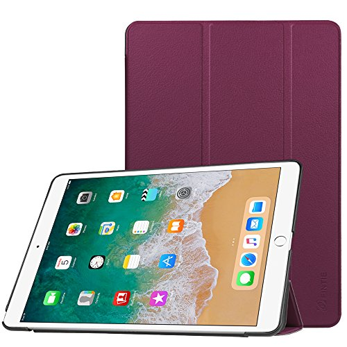 Fintie iPad Pro 10.5 Case - [SlimShell] Ultra Lightweight Standing Protective Cover with Auto Wake/Sleep Feature for Apple iPad Pro 10.5 Inch (2017 Release), Purple