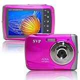 SVP WP5300 12 MP Waterproof Digital Camera (Pink)