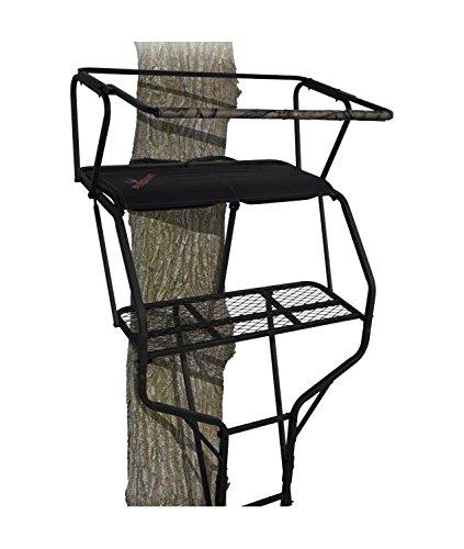 BIG GAME Treestands Guardian XL 18' Ladder Stand Big Game Stand Treestand