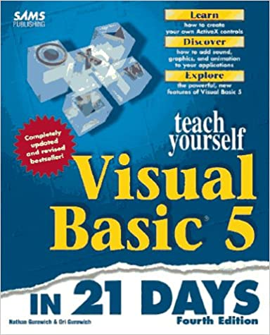 Book Sams Teach Yourself Visual Basic 5 in 21 Days (Sams Teach Yourself...in 21 Days)