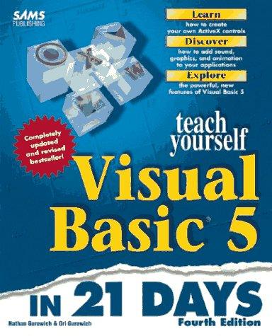 Teach Yourself Visual Basic 5 in 21 Days (Sams Teach Yourself...in 21 Days)