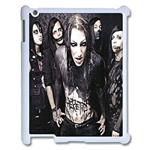 Hjdiycase Customized Motionless In White cases for iPad 2,3,4, custom iPad 2,3,4 cases Motionless In White, Motionless In White Plastic Cases