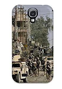 Art Marie Johnson Fashion Protective Us Infantry Case Cover For Galaxy S4