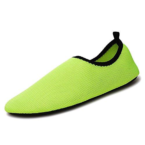 verde descalzo zapatos zapatillas puro aire de transpirable Lucdespo Natación libre zapatos deportes rojo 8 SK al qPgwTSTZxE