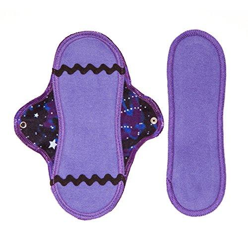 Lunapads Organic Cotton Mini Pad & Insert, Cosmic Dancer